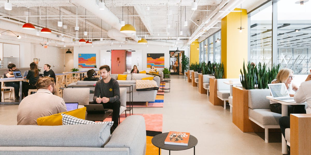 Hot Desks Amp Daily Office Space For Rent Wework
