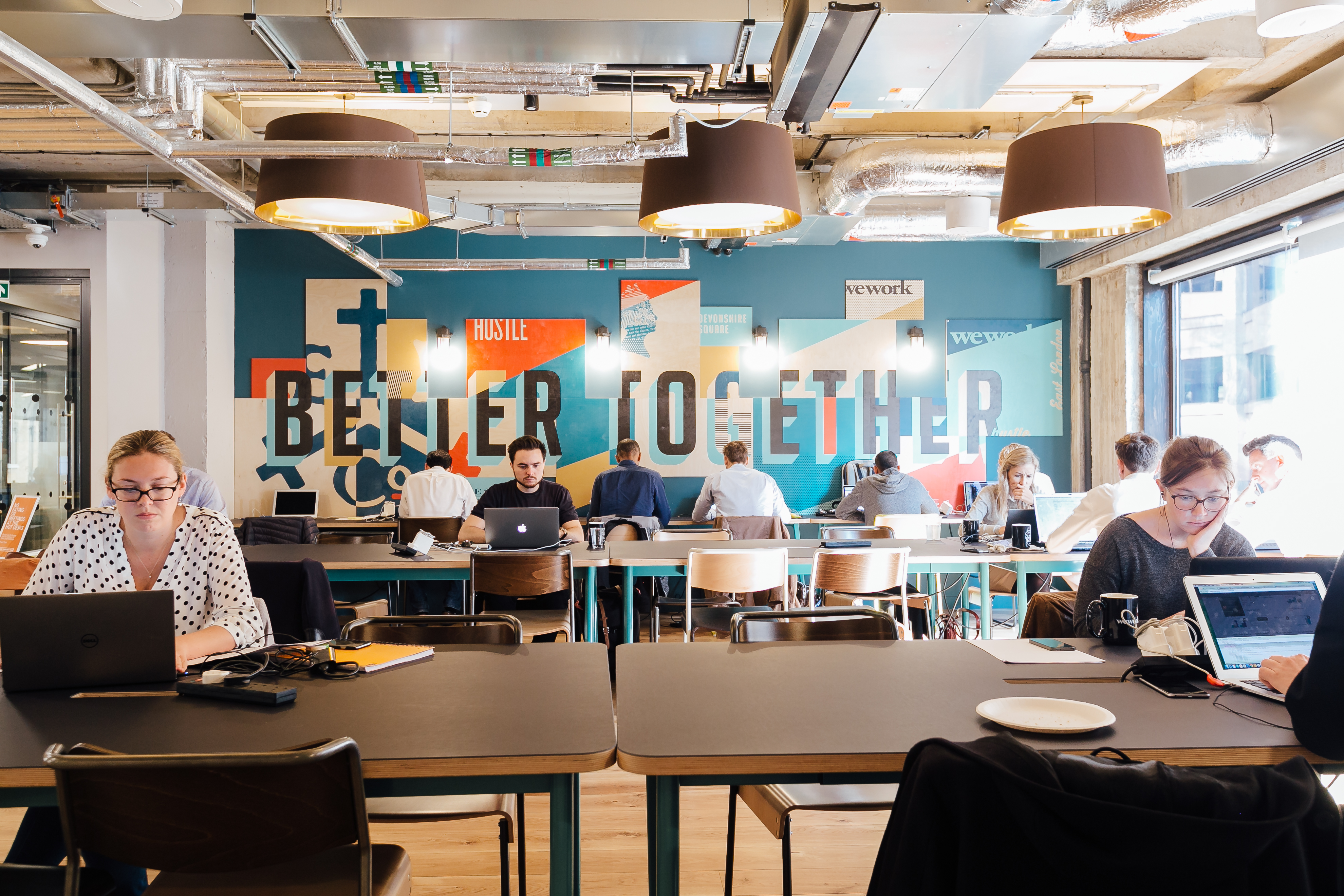 Coworking Office Spaces in London WeWork