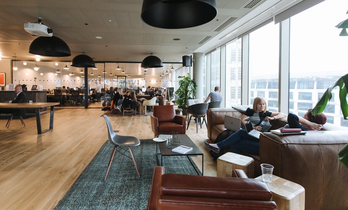 moorgate coworking office space wework london
