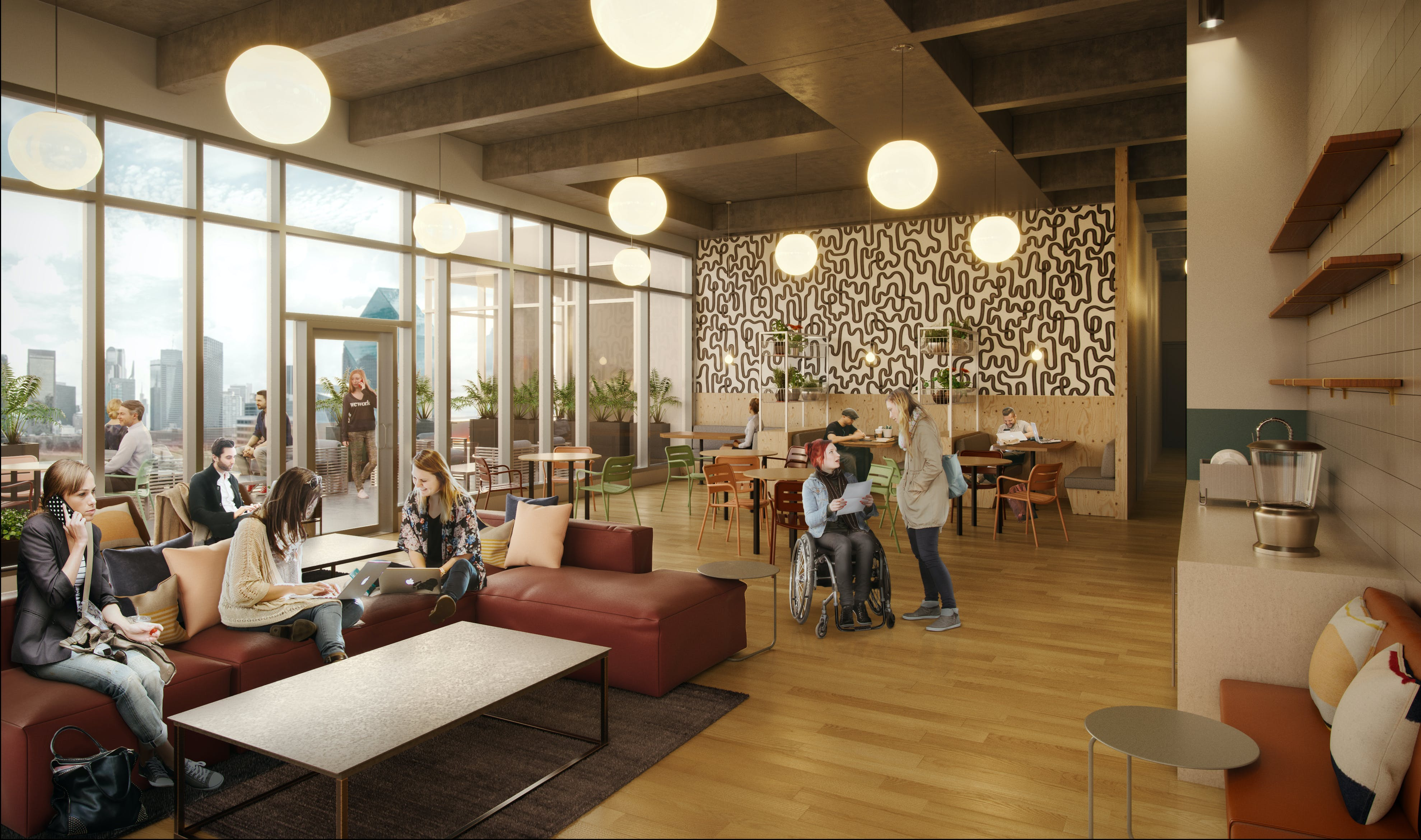Auto City Dallas Tx >> Uptown Coworking Office Space | WeWork Dallas