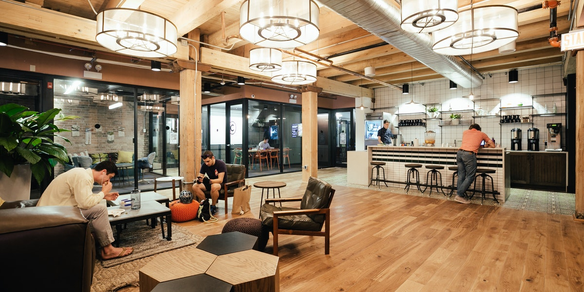 Fulton Market Coworking Office Space Wework Chicago