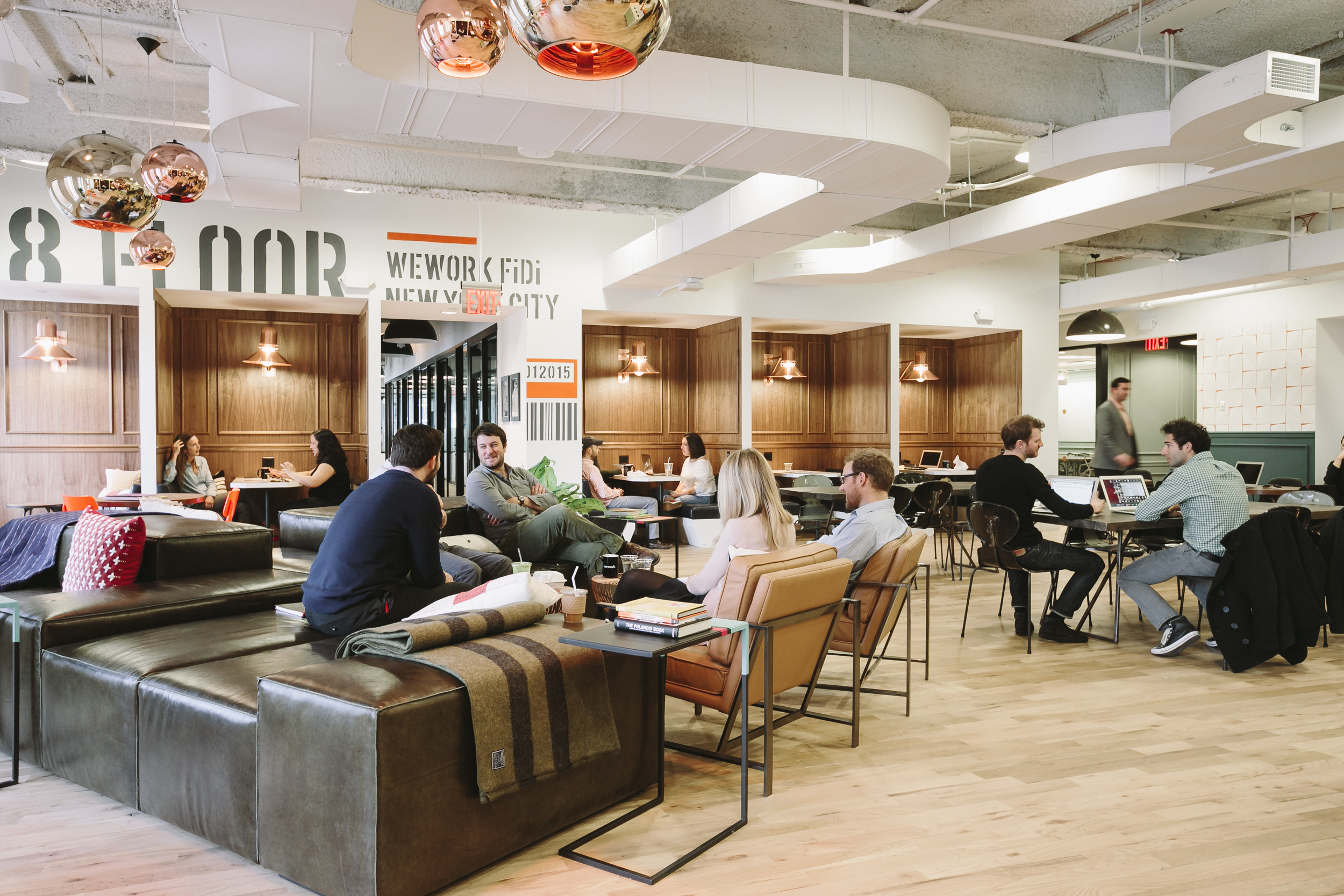 Financial District Coworking Office Space - 85 Broad | WeWork