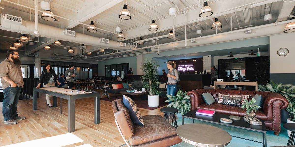 Playa Vista Office Space 12655 W Jefferson Blvd Wework