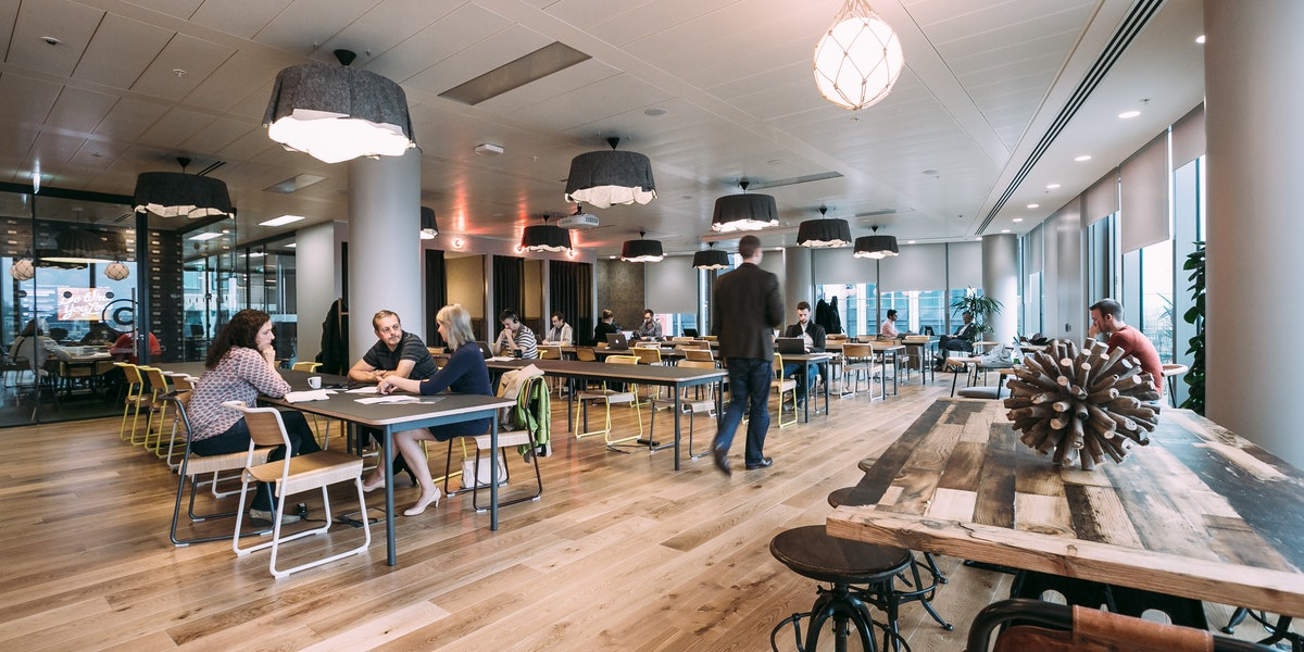 South bank coworking office space wework london for Design hotel zwolle