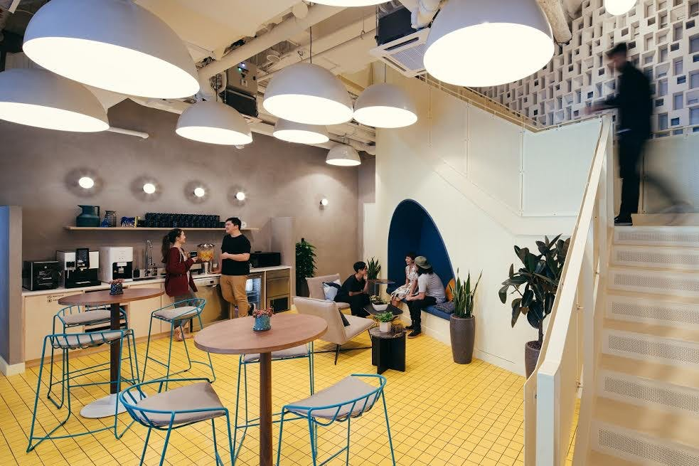 Downtown Core Singapore Office Space Wework