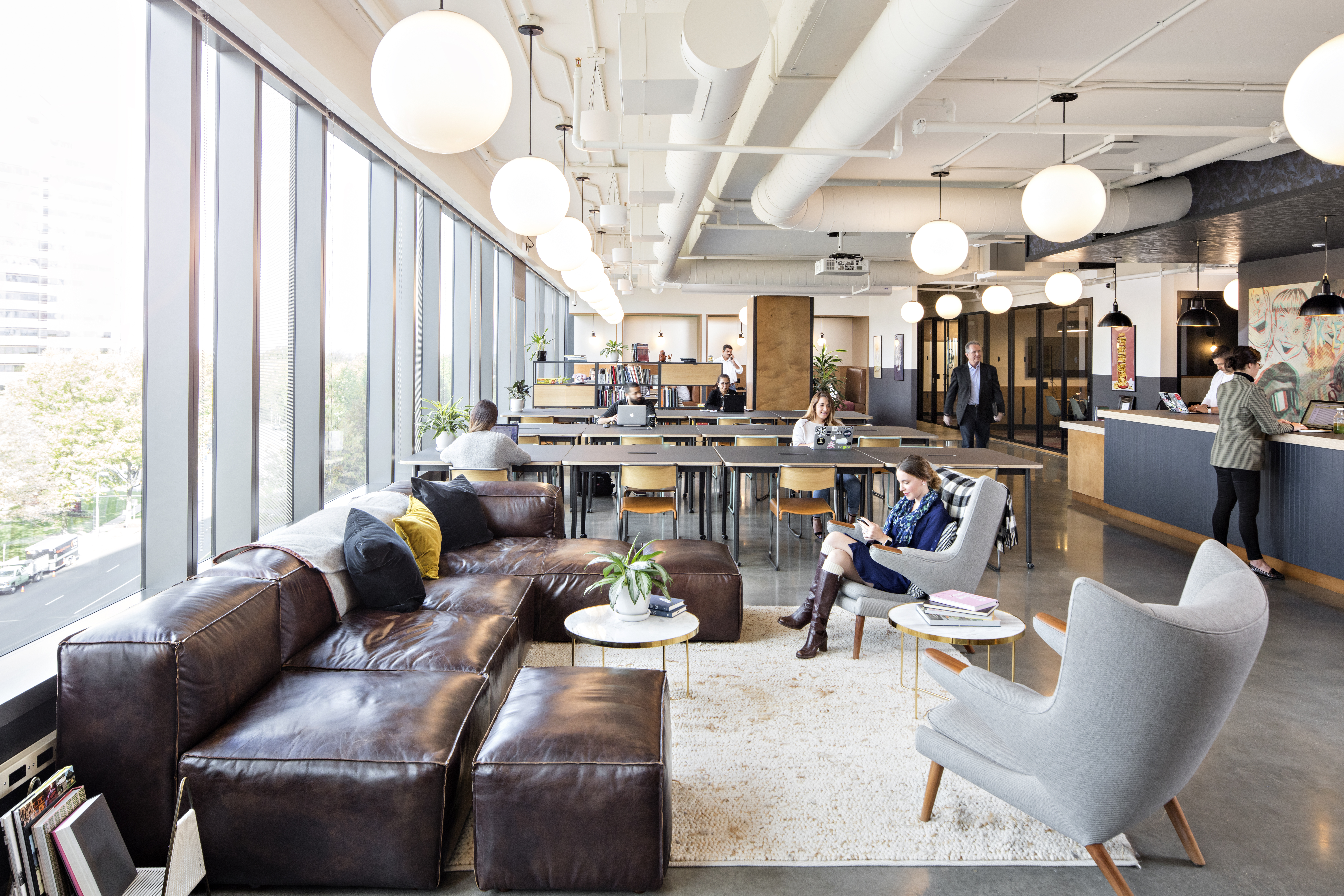 One glenwood coworking space in downtown raleigh wework