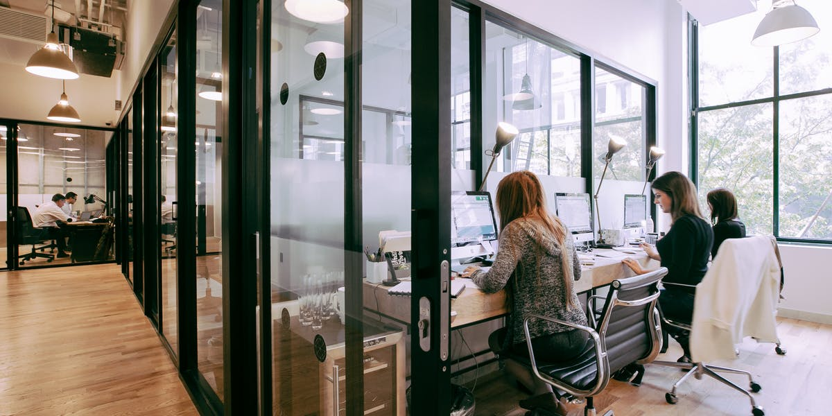 National Building Coworking Office Space Wework Chicago