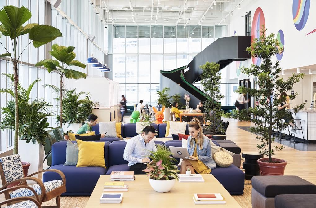 Suntec Tower 5 Coworking Office Space | WeWork Singapore