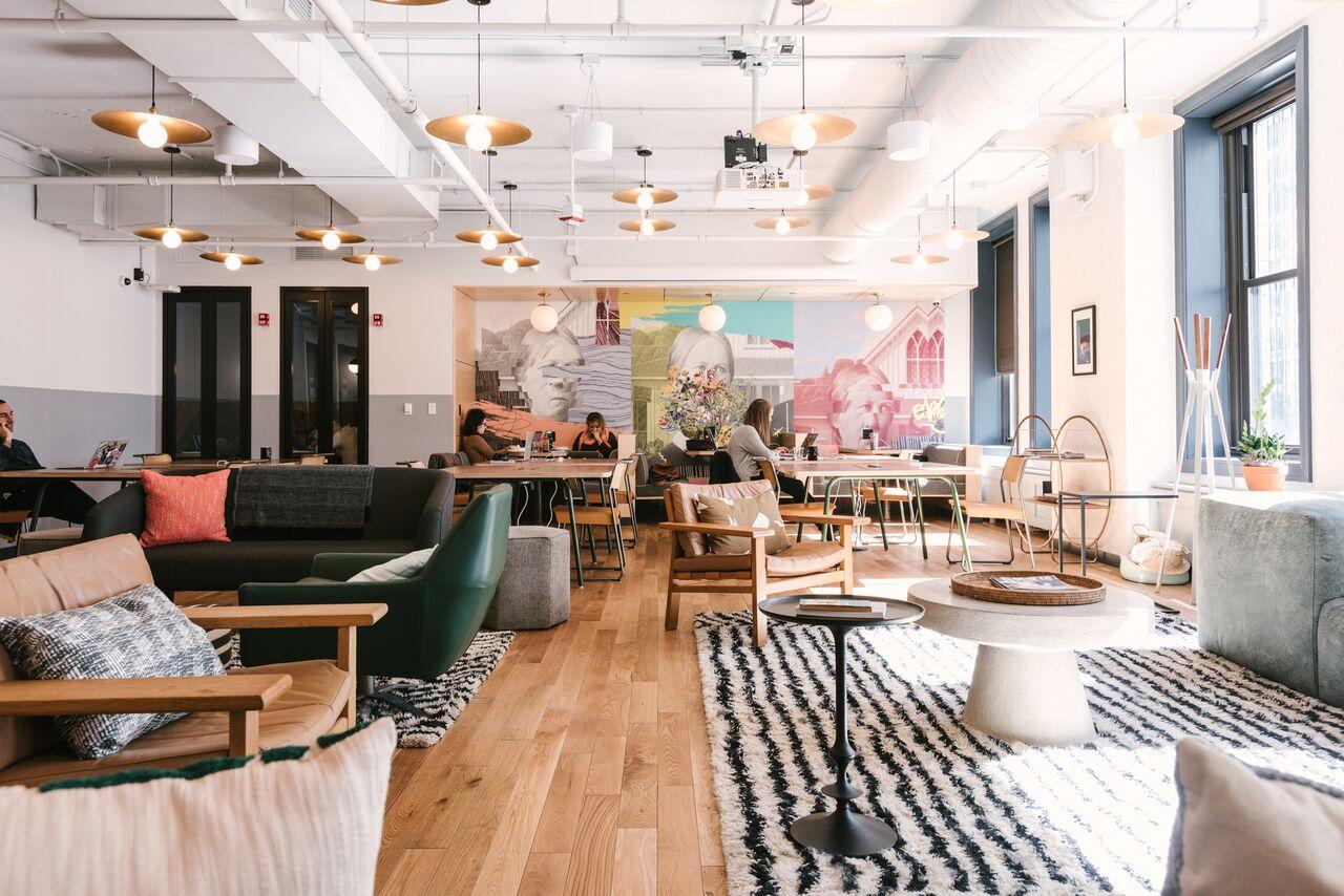Spaces Rue De Londres place de l'europe coworking office space | wework