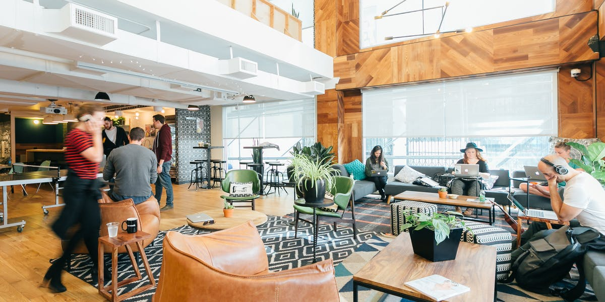 1 University Ave Coworking Office Space Wework Toronto