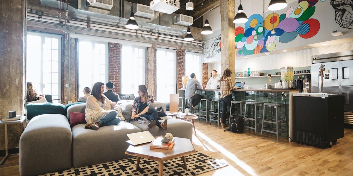 Coworking Office Downtown LA 48 W 48th St WeWork Unique Beaux Arts Interior Design Plans