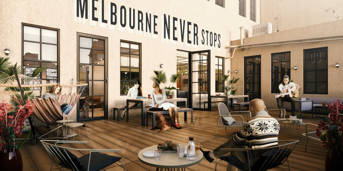 Office Space On 345 Bourke St Wework