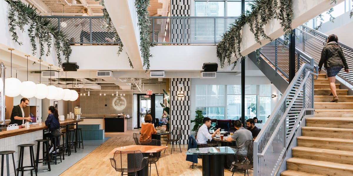 Peachtree And Piedmont Coworking Space Wework