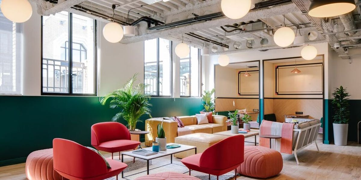 One Gotham Center Coworking Office Space | WeWork New York City