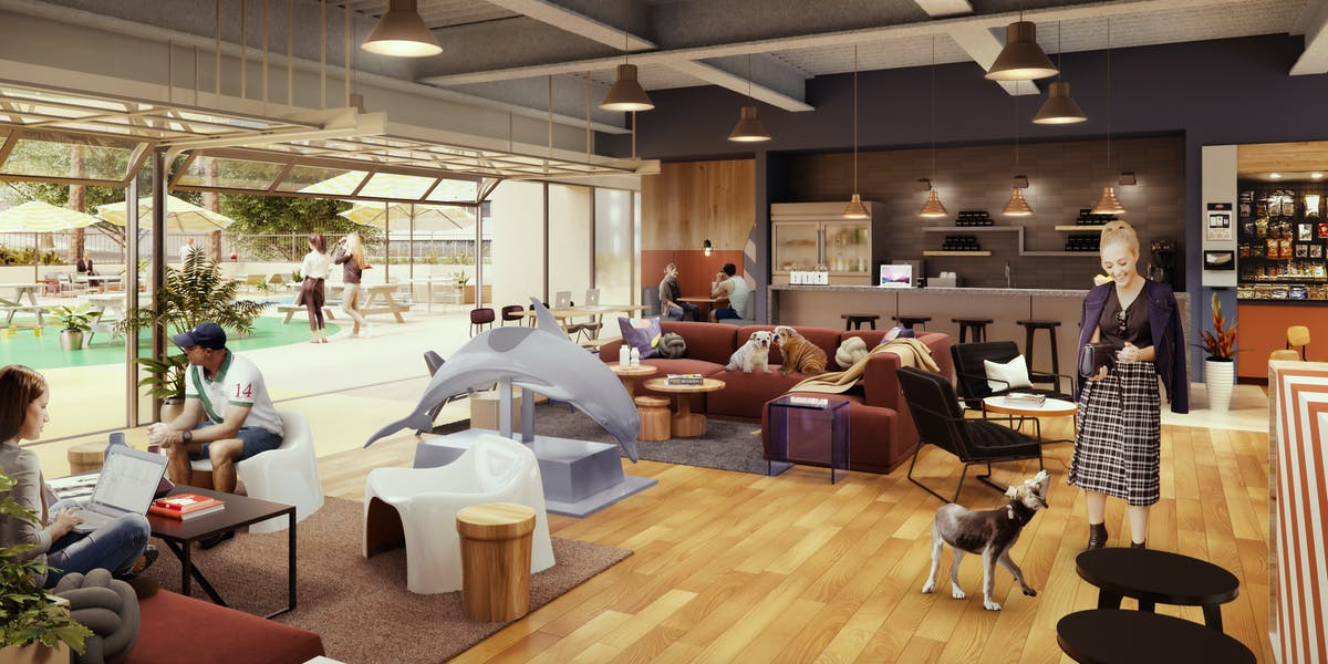 Shared office space core district san diego wework for Shared office space montreal