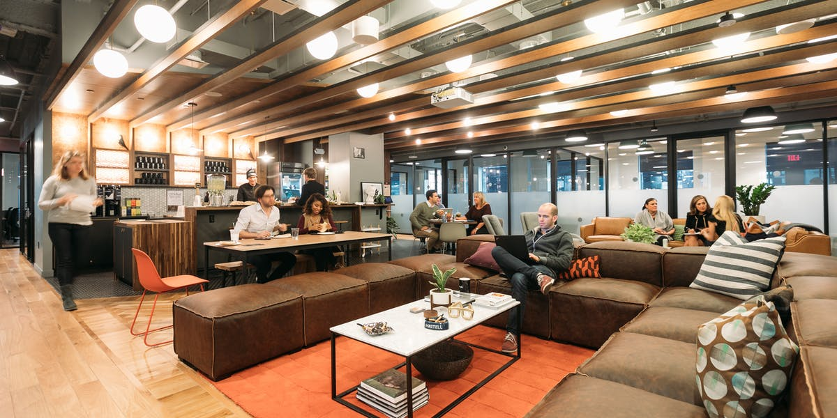 E 57th St Coworking Office Space Midtown East Wework