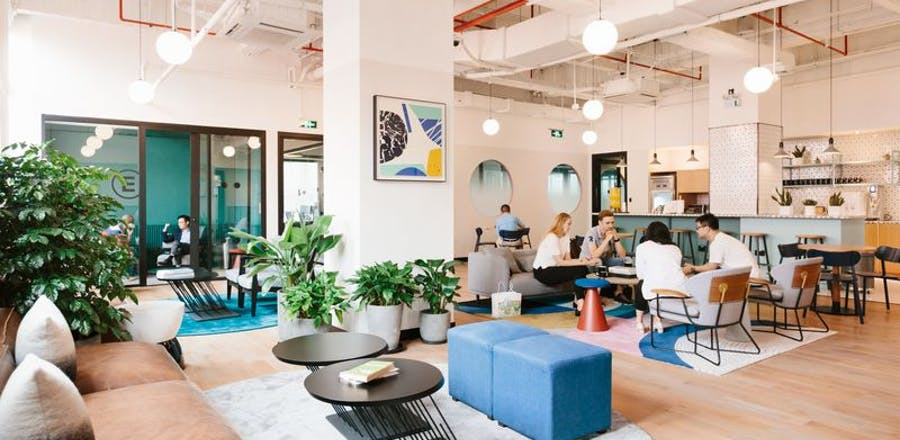 find coworking office space in shenzhen wework. Black Bedroom Furniture Sets. Home Design Ideas