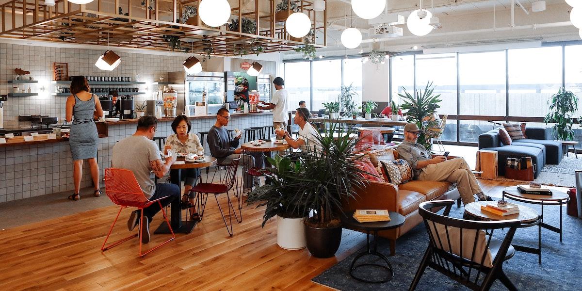 Pasadena Coworking Office Space Wework Los Angeles