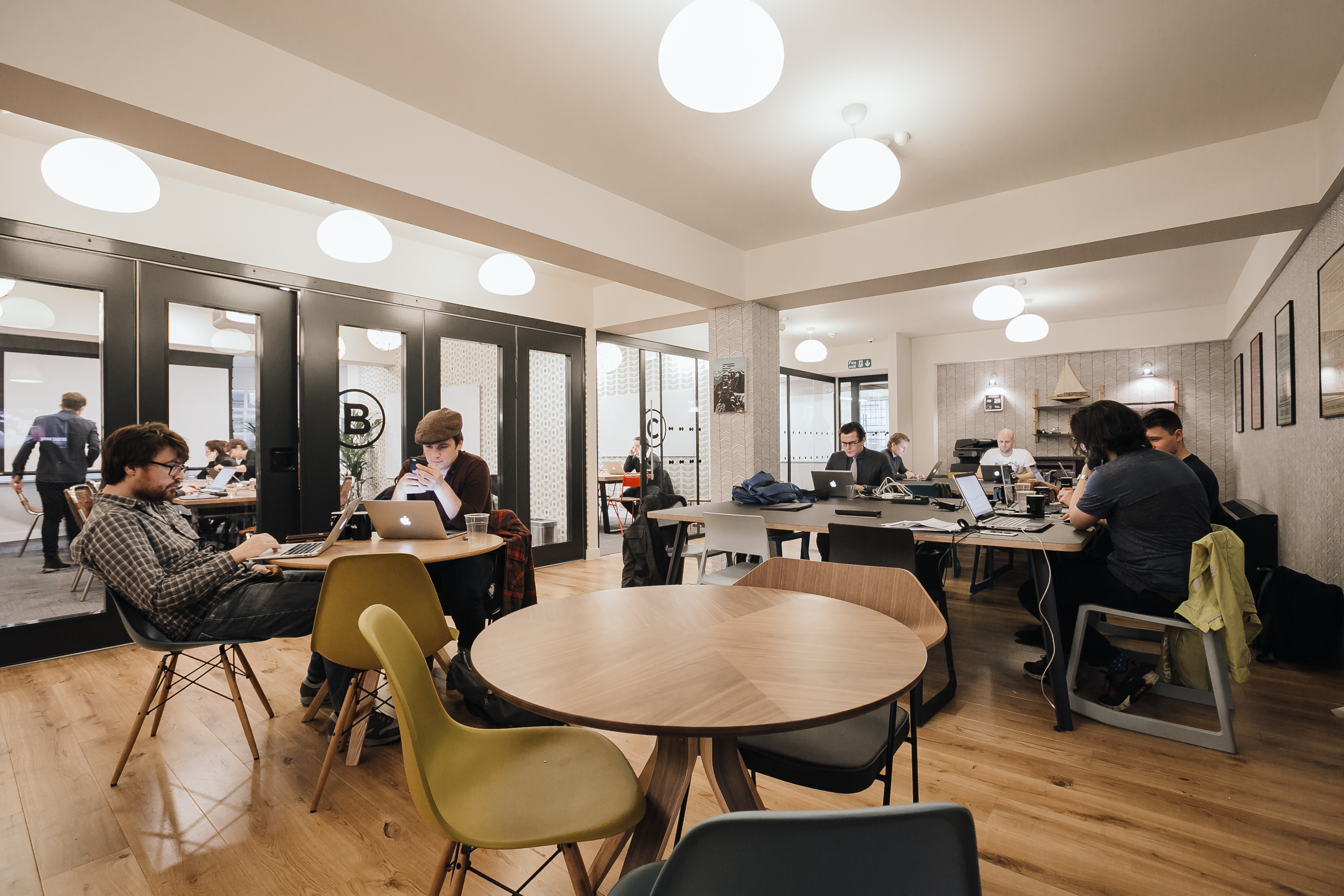Soho coworking office space 2 sheraton st wework