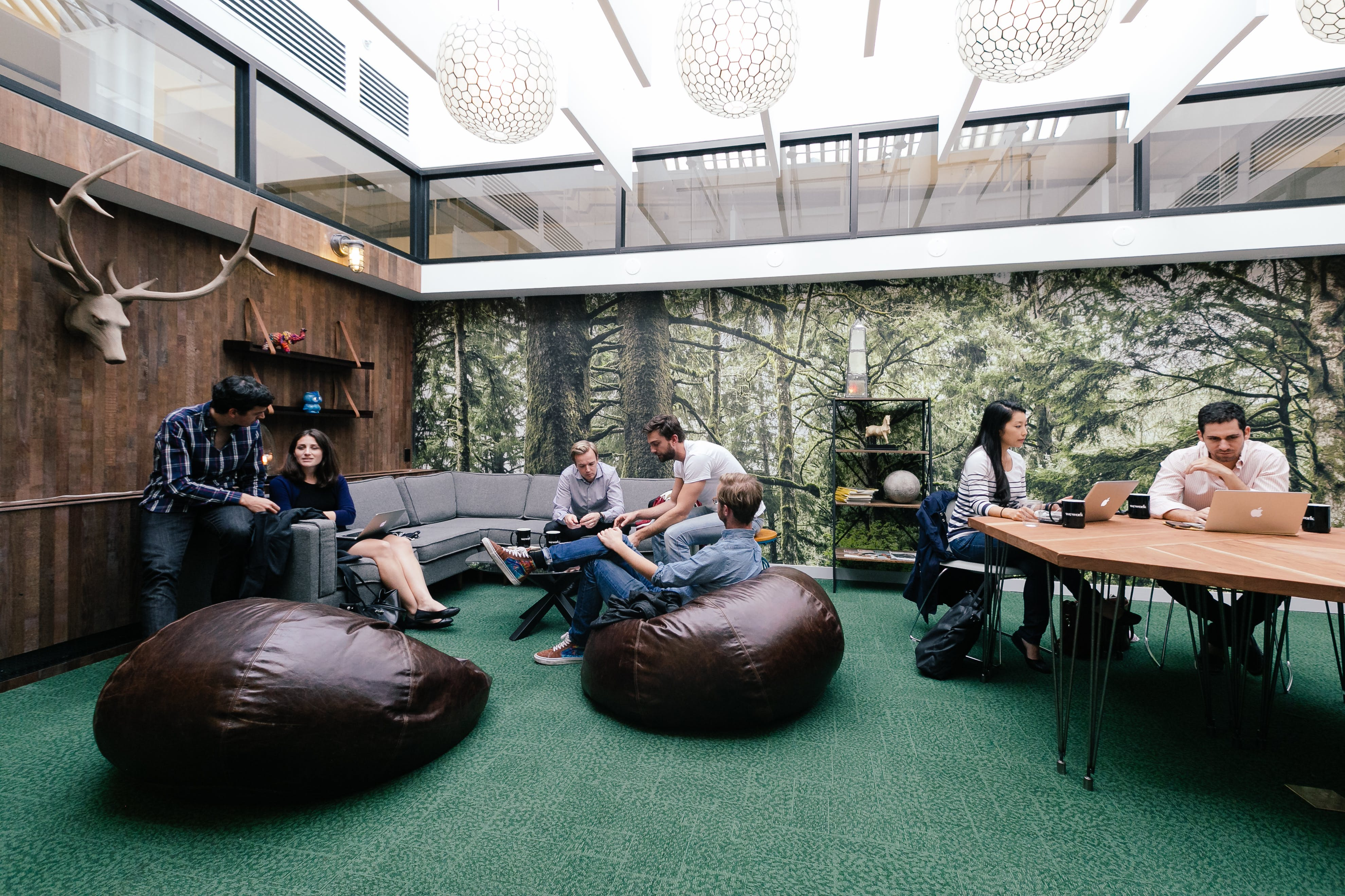 West Broadway Coworking Office Space Wework New York City