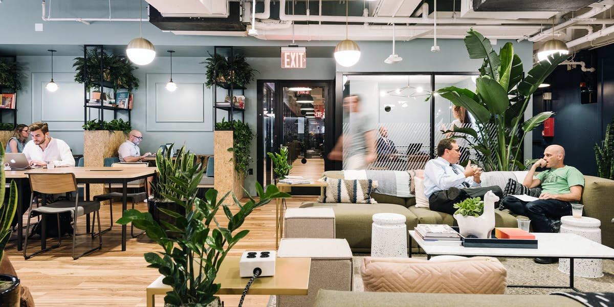 penn station coworking office space 315 w 36th st wework